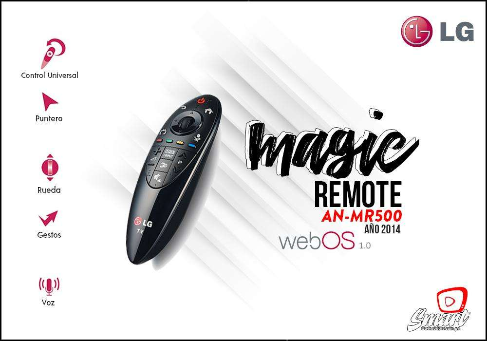 Magic Remote Control Lg Anmr500 Original Año 2014