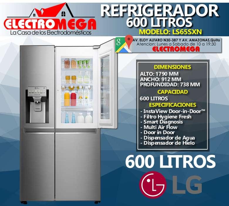 Refrigeradora Lg Instaview Door In Door De 601 L Ls65sxn