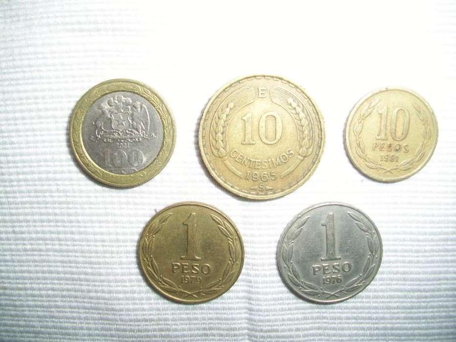 monedas chilenas de coleccion