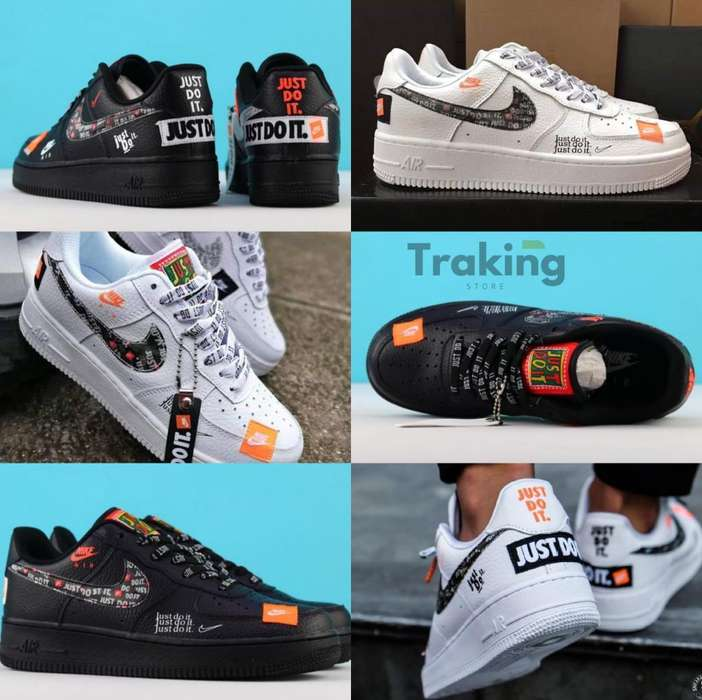 Af1 Air Force One Low Edición Just Do It