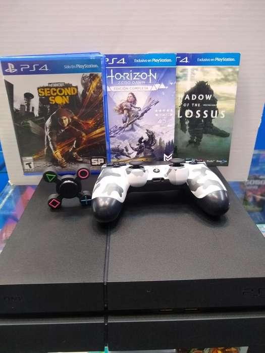 Play4 Fat Rf 1215 500 Gb 1 Control Espec