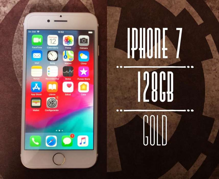 iPhone 7 Gold 128Gb libre de fabrica