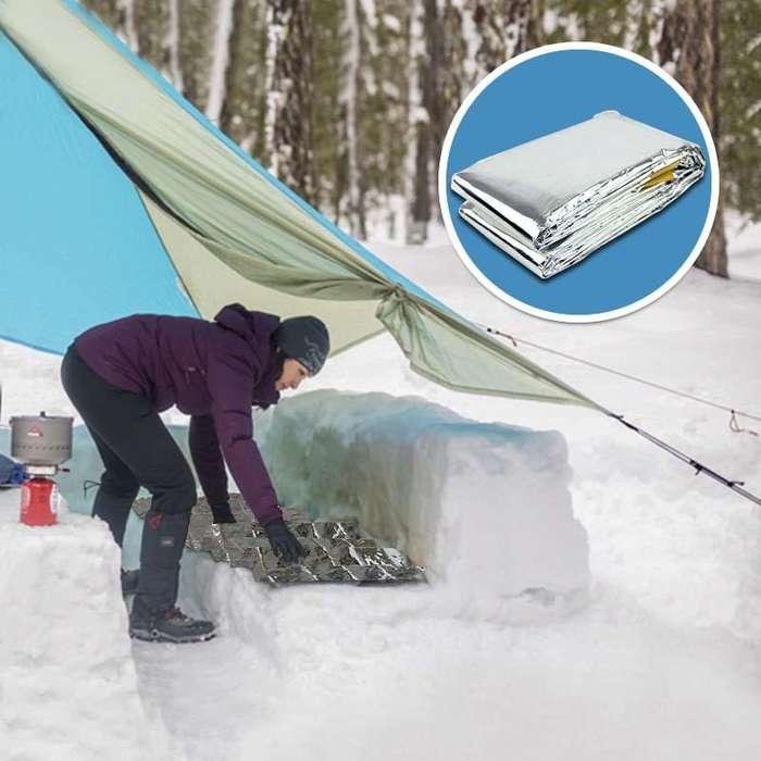 Bolsa Para Dormir Térmica Sleeping Bag Emergencias Temperaturas Extremas RF 450