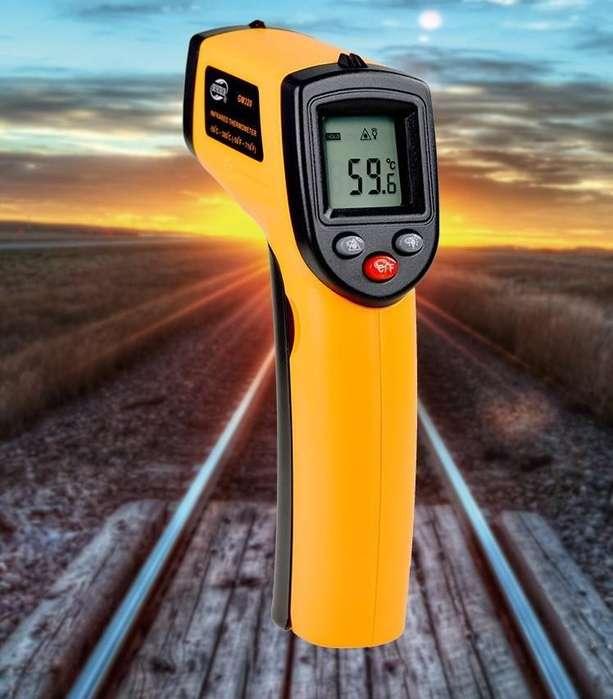 Medir la temperatura de manera fácil y práctica, termometro digital laser