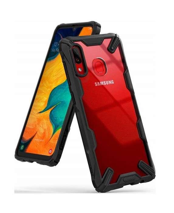 Estuche Protector Ringke Fusion X Samsung Galaxy A30