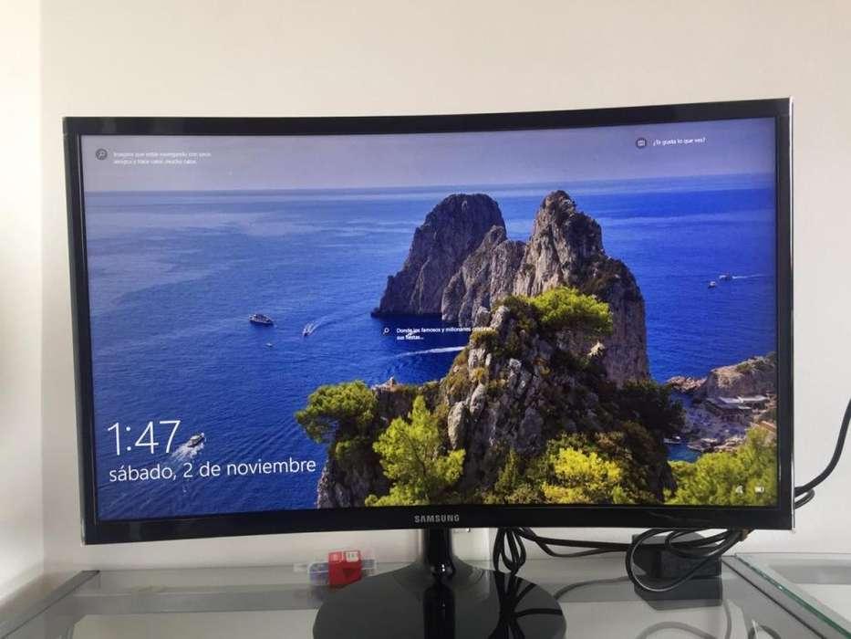 Monitor Samsung Curvo, con garantía de homecenter