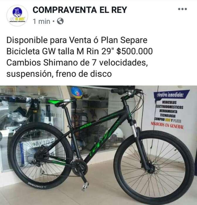 Bicicleta Gw Talla M