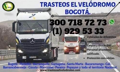 Mudanzas en Bogotá. Excelentes precios. 300 718 7273
