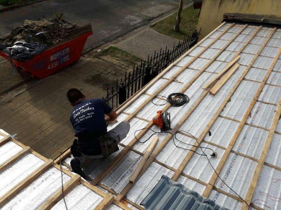 techista reparaciones de techos