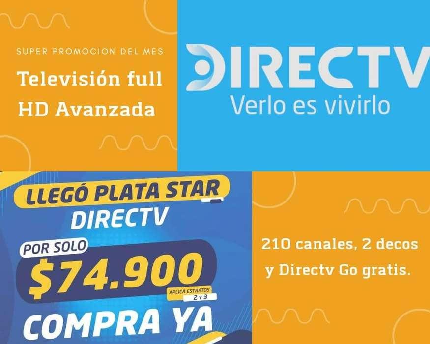 DIRECTV TELEVISIÓN SATELITAL INTERNET PARA TU HOGAR