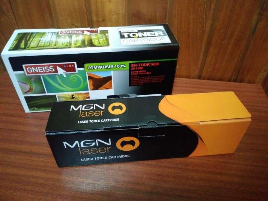 Toner y drum para impresoras laser marca mgn y gneiss