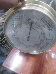Antiguo Barómetro Alemán Sufft Bronce