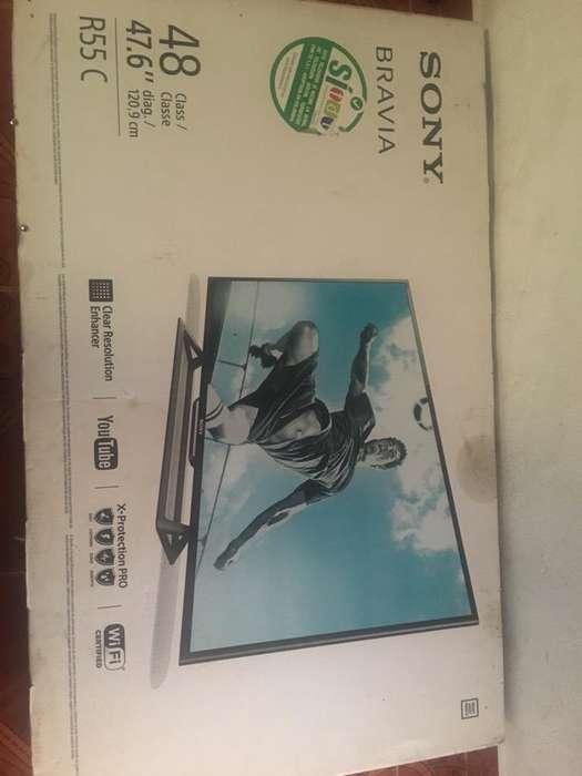 Tv de 48 Pulgadas Sony Bravia HD combo