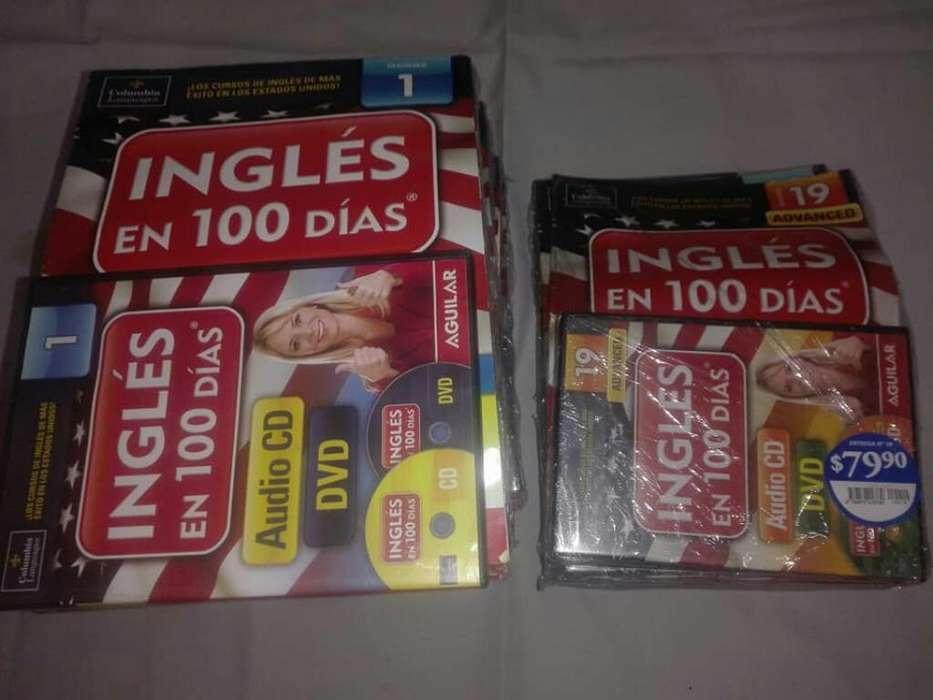 Coleccion Ingles en 100 Dias Cd<strong>dvd</strong>