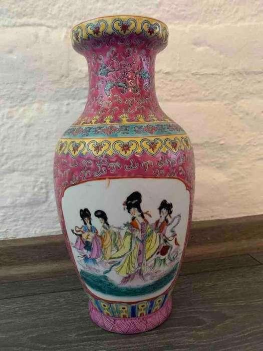 Florero-adorno de cerámica China
