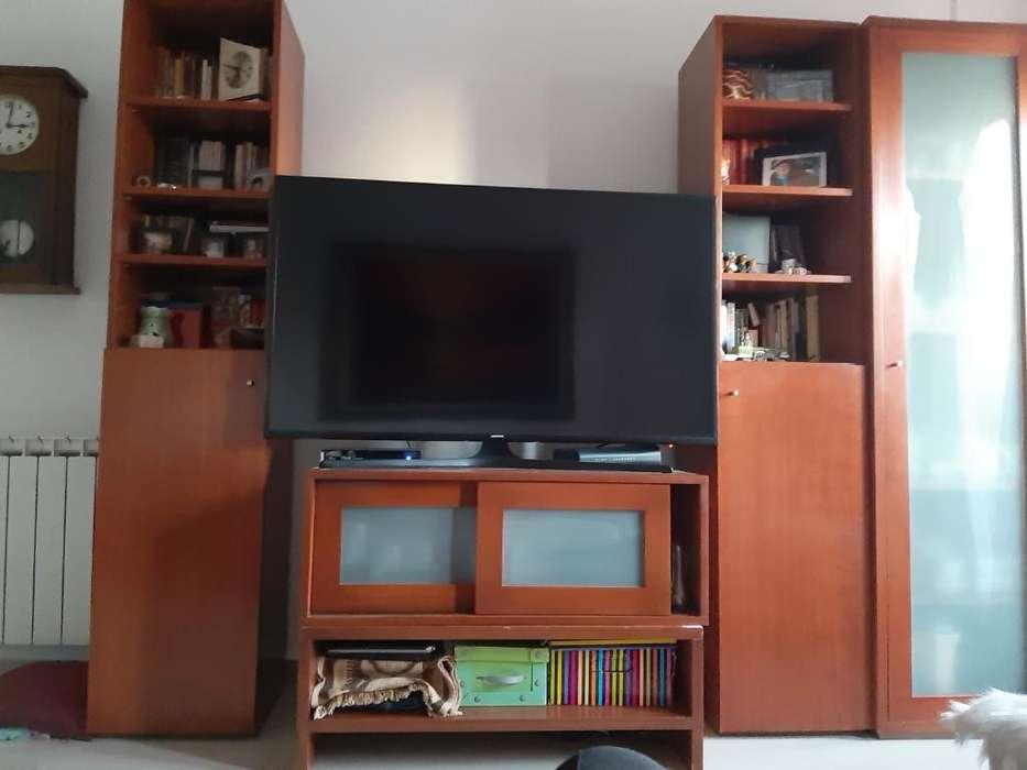 Rack Biblioteca Mesa Tv Vajillero