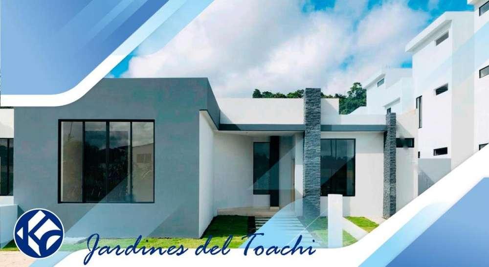 venta-casa-urbanización-privada jardines del toachi