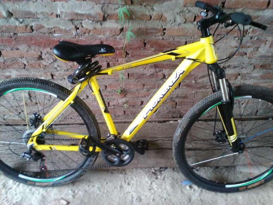 Bicicleta con Freno a Disco