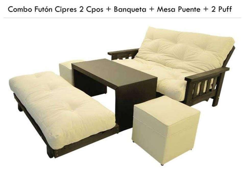 futon futones fabrica mar del plata(combo)