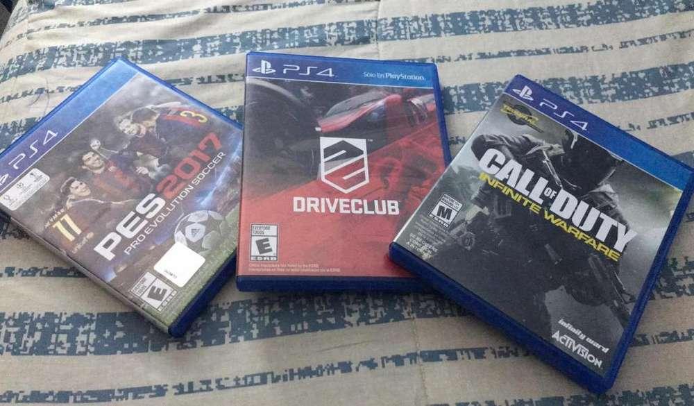Videosjuegos Ps4 Pack de 3