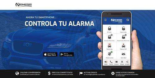 ALARMA NEMESIS CONNECT. GPS,BLOQUEO DE MOTOR,CONTROL DE ALARMA