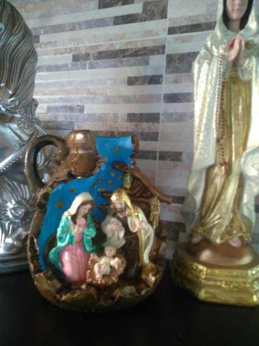 Hermoso Pesebre en Ceramica