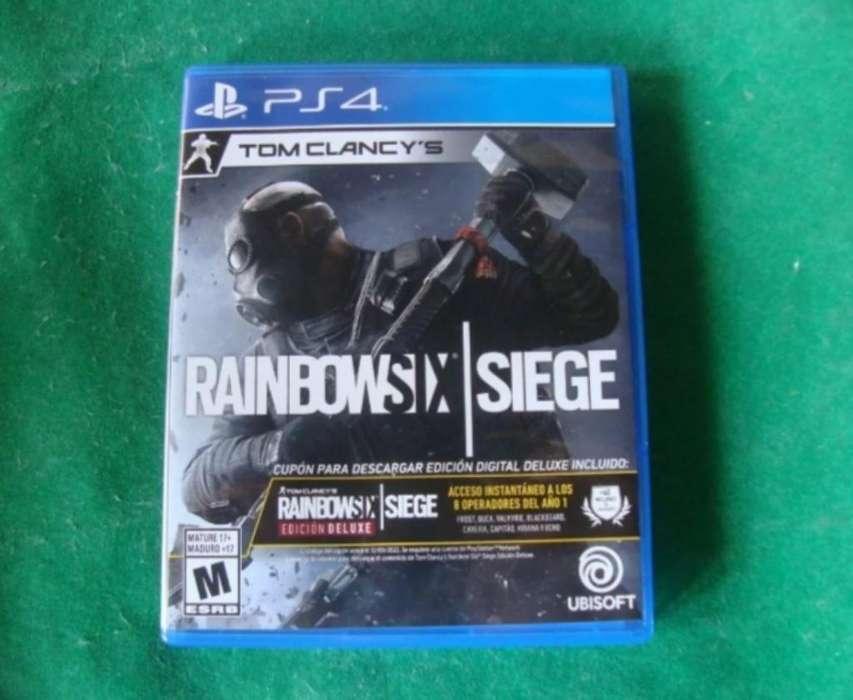 Vendo Rainbow Six Siege Deluxe Edition