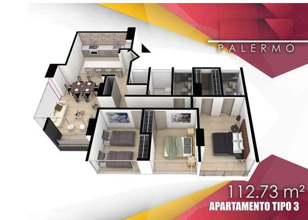 Venta Apartamento Palermo, Manizales - wasi_1145281