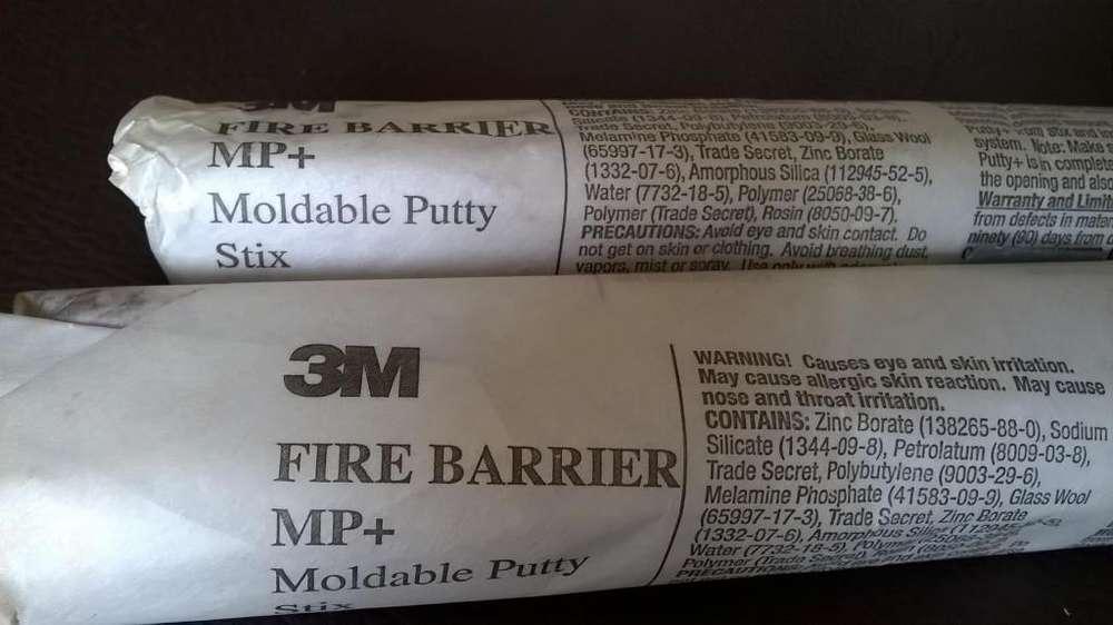 Masilla Barrera Contra Fuego 3M Nueva