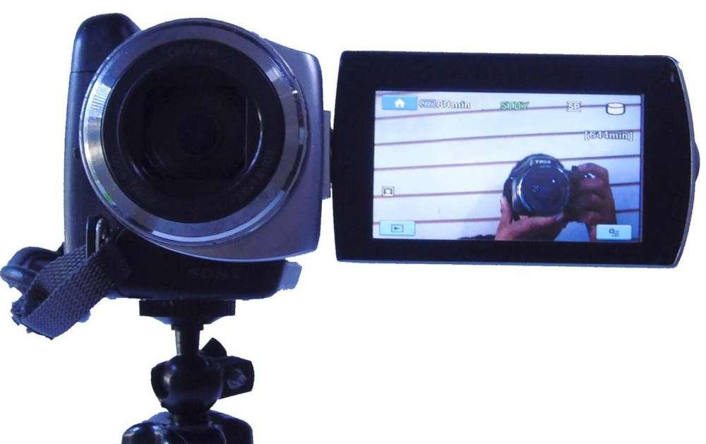 Cámara De Video Sony Handycam Dcr-sr47 Vendo O Cambio