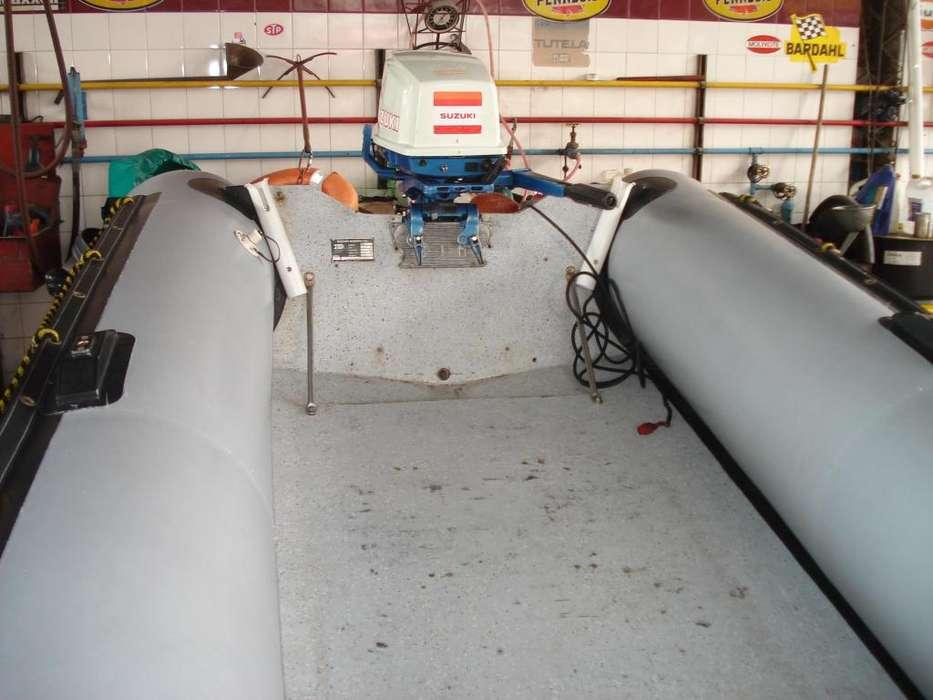 Bote semirrigido BIM 4.30 m.