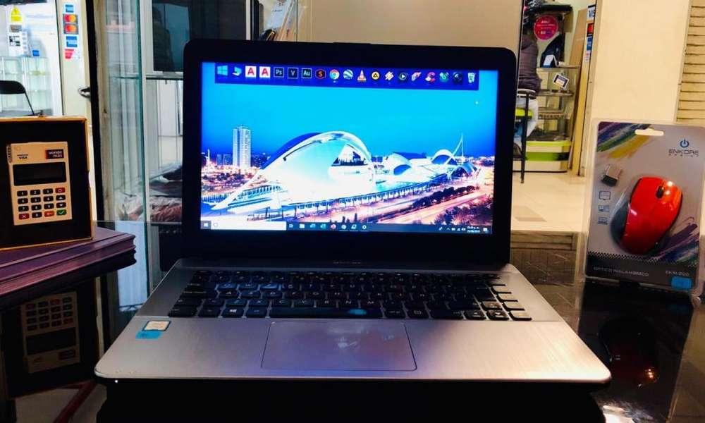 ASUS Intel Core i3 2.4GHz, 7MA Gen, 4GB Ram, 1TB Capacidad, 14