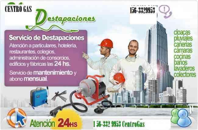 destapaciones quilmes 11 6332 9953