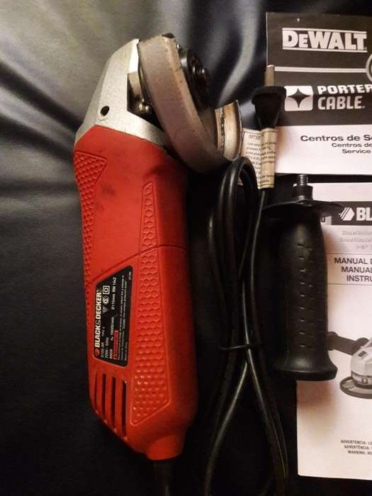 Amoladora Black And Decker Angular 800w