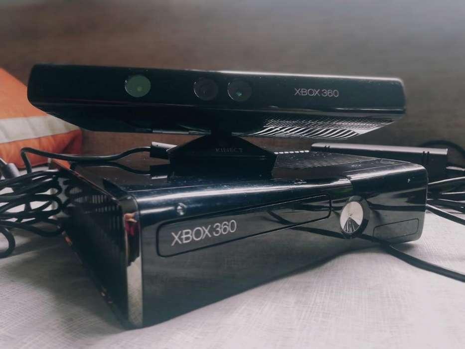 Xbox 360, Kinect, 2 Mandos.