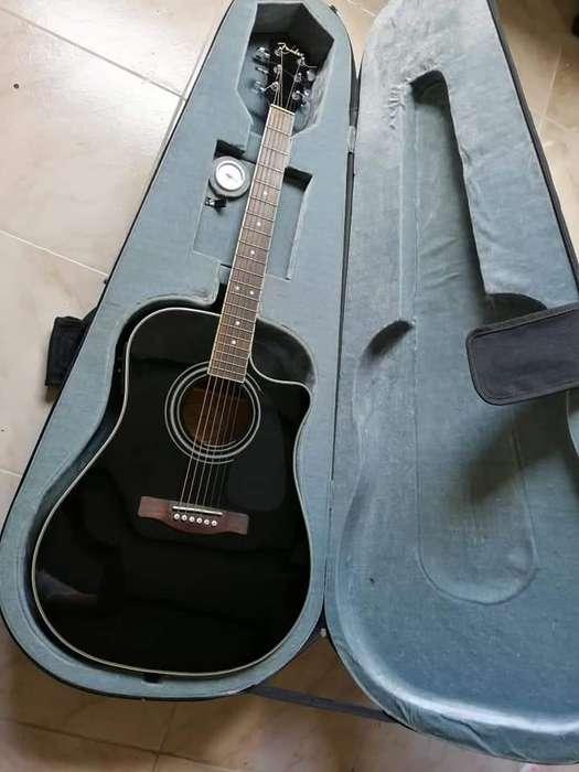 Guitarra Electroacustica Fender Cd140 Sce Con Estuche