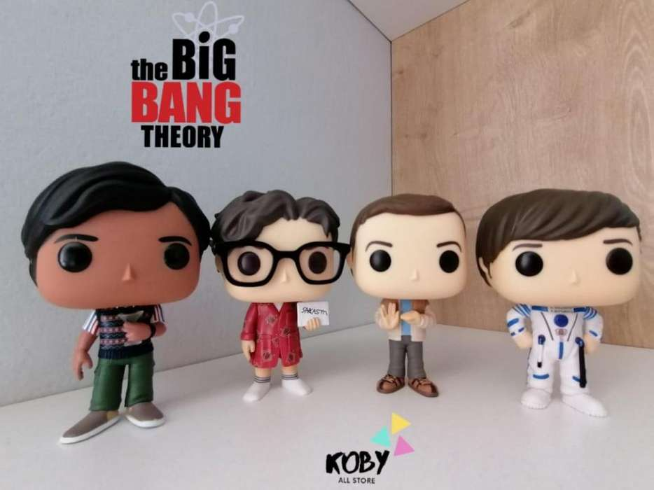 The Big Ban Theory !!! Ya llego a Koby All Store, tenemos a tus personajes favoritos.