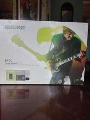 Inalámbrico Shure para guitarra.