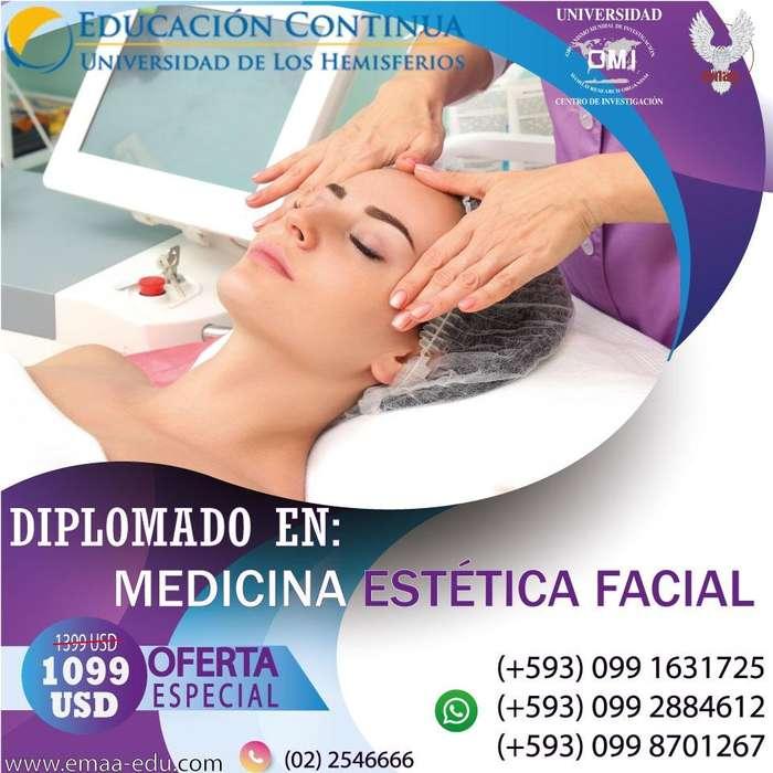 <strong>diplomado</strong> Medicina Estética Facial