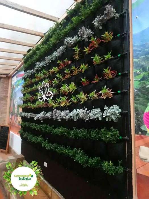Jardines verticales, despachos a toda Colombia