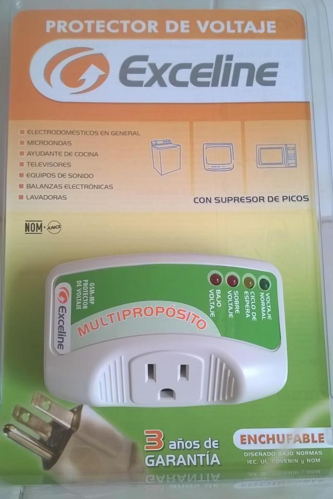 Protector de Voltaje Multiproposito Exceline Nuevo