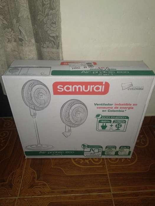 Ventilador Samurai 2 en 1