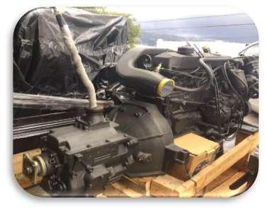 Motor Mercedes Benz a Diesel