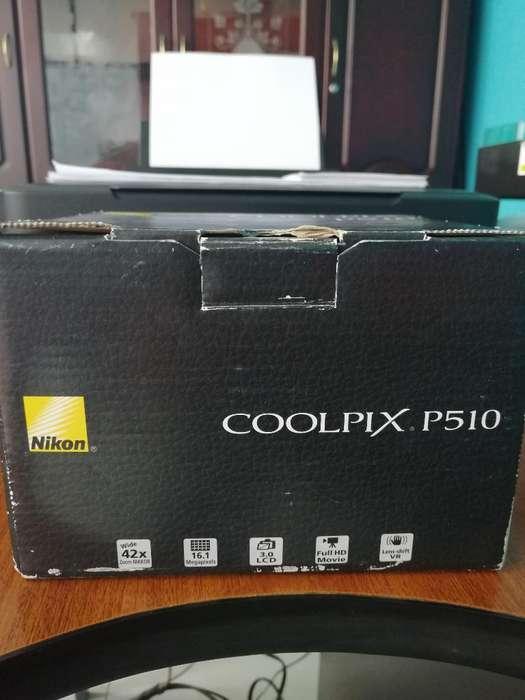 Vendo Cámara Nikon P510
