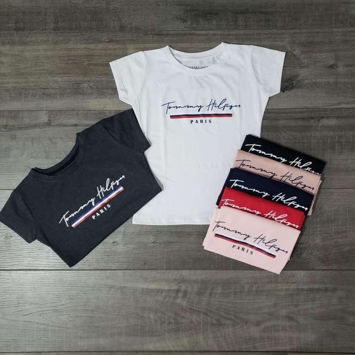 Camisetas Dama Tommy Adidas Nike Calvin