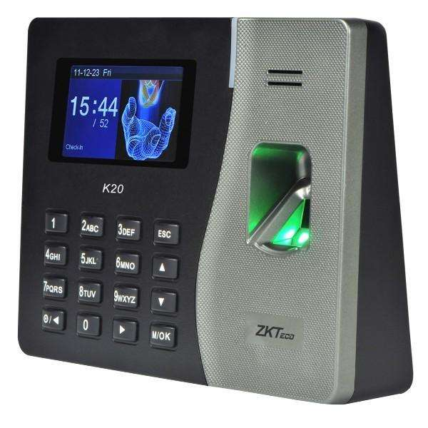 Reloj Biometrico K20. Control de Acceso/Asistencia.Regista huellas.Quito