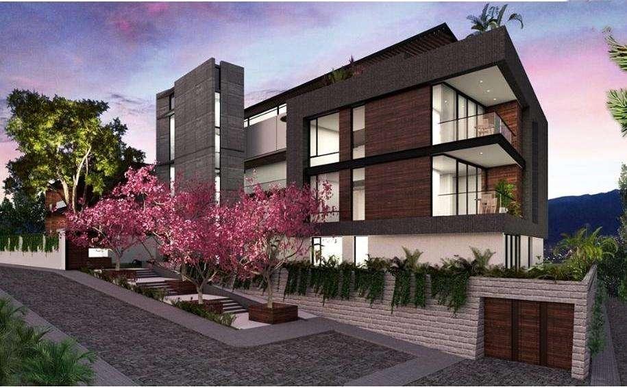 De Venta. Cumbayá - La Viña. Lujo, Exclusividad. Departamento 2 dormitorios 107,53 m Jardín 126,70 m