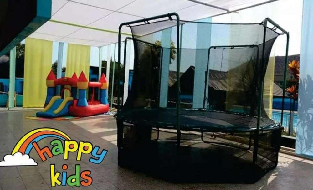 Juegos inflables y cama saltarin, mesa de Fulbito, piscina con pelotas