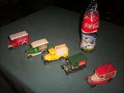Colección de Camiones CocaCola a la venta ideal para coleccionistas