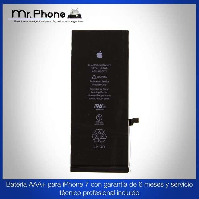 Batería iPhone 7 Aaa Con Garantía De 6 Meses Instalación